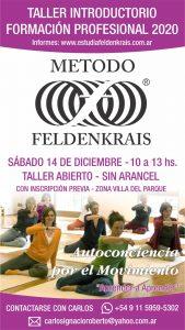 Taller Feldenkrais 14-12 Villa del Parque